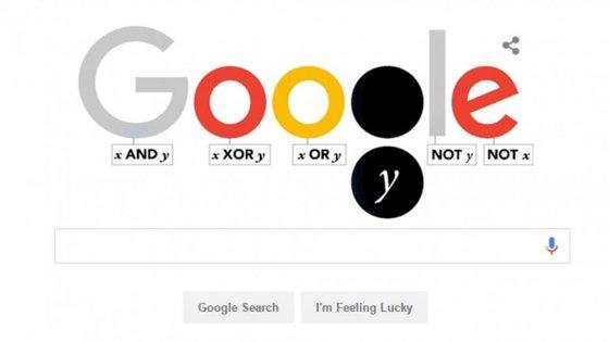 George Boole, nascido no século XIX, ficou conhecido pelos seus contributos matemáticos para a ciência da computação.