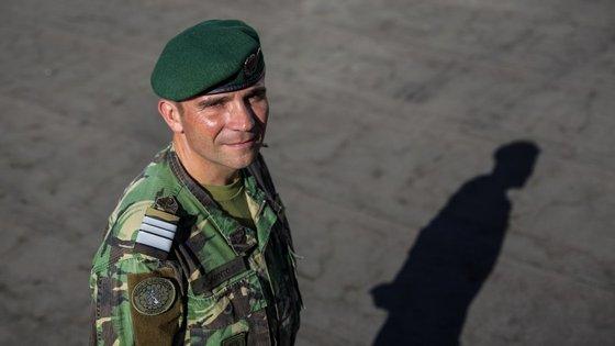 O tenente-coronel Jacinto estava no quartel-general de Bagdad