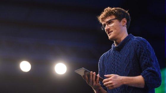 Paddy Cosgrave é o fundador e líder da Web Summit