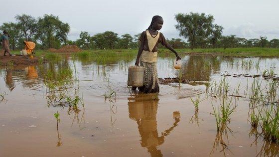 Um dos objetivos do financiamento é ajudar países vulneráveis às cheias