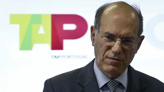 Fernando Pinto é o presidente da TAP