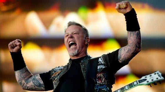 """A passagem dos Metallica por Portugal insere-se na digressão europeia de promoção de """"Hardwired... to Self-Destruct"""", o último álbum da banda"""