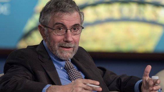 """É preciso ter """"muito cuidado"""" com medidas que possam colocar em causa competitividade da economia portuguesa, diz Krugman"""