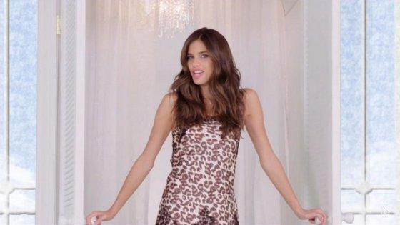 A portuguesa Sara Sampaio é uma das protagonistas do vídeo, que, em menos de um dia, já ultrapassou as 60 mil visualizações