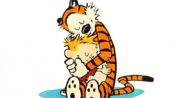 """A banda desenhada """"Calvin and Hobbes"""" foi publicada em mais de dois mil jornais no mundo inteiro"""
