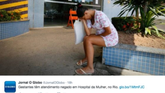 Nas redes sociais, têm vindo a ser partilhadas várias imagens, mostrando cidadãos brasileiros angustiados com a falta de serviços médicos