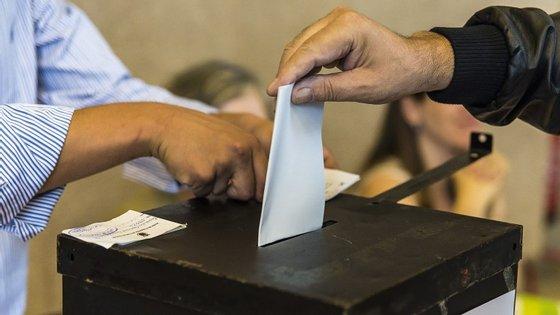 Ainda podem ser eliminadas candidaturas que figuram no boletim de voto