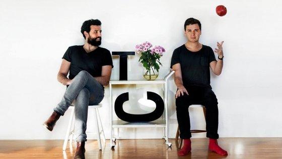 Os Thunder & Co. são Rodrigo Gomes e Sebastião Teixeira