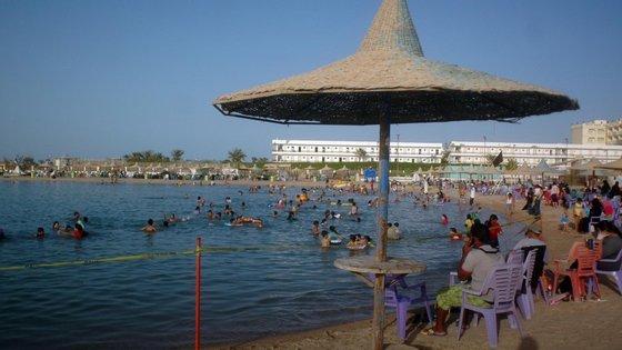 A cidade costeira de Hurghada é um dos mais famosos destinos turísticos do Egito