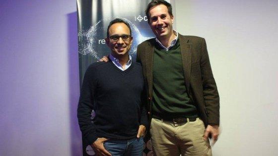 Ricardo Costa, diretor do Expresso, com Martim Avillez Figueiredo