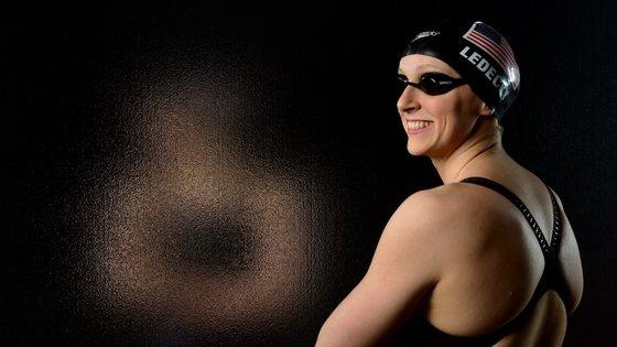 Katie Ledecky bateu 11 recordes do mundo nos últimos dois anos. Em 2015, nos Mundiais de Kazan, na Rússia, venceu todas a provas de estilo livre em que participou