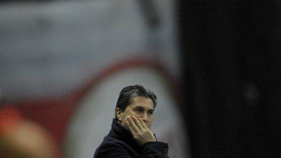 O único caneco a sério que José Peseiro conquistou na carreira foi a Taça da Liga, em 2012/13, com o Sporting de Braga
