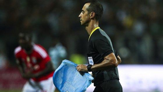 O portuguense Jorge Sousa foi nomeado para o jogo de Alvalade, que oporá o Sporting ao quarto classificado, o Sporting de Braga
