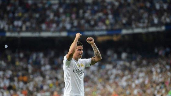 O colombiano leva seis golos e três assistência esta época, longe dos 16 remates e 13 passes com que terminou a temporada passada. Até agora, só jogou cerca de 30% dos minutos em que o Real Madrid esteve em campo durante 2015/16