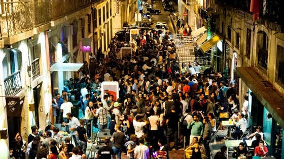 A Rua Cor-de-Rosa no Cais do Sodré