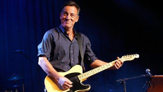 Bruce Springsteen tem 66 anos, 51 deles passados na música