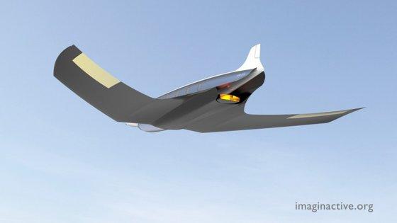 O Antipode pode atingir uma velocidade de 29635.2 km/h
