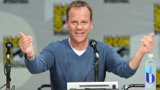 """O ator Kiefer Sutherland foi Jack Bauer, durante as oito temporadas de """"24"""""""