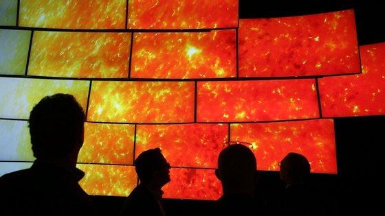 O Consumer Eletronics Show (CES) decorre em Las Vegas e contou, este ano, com 150 mil participantes