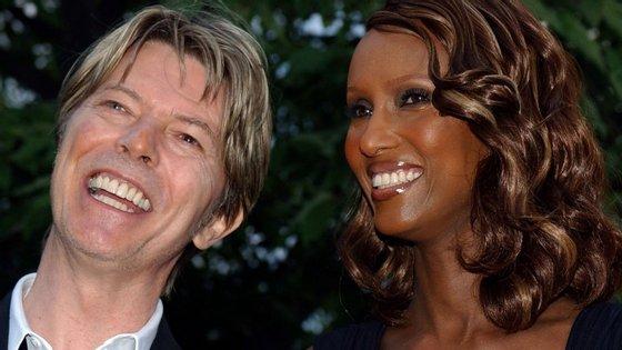 Bowie e Iman casaram-se há 23 anos