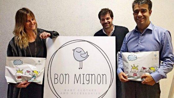 Marta Leitão, Nuno Pimenta e Ricardo Carvalho são três dos quatro fundadores da Bon Mignon
