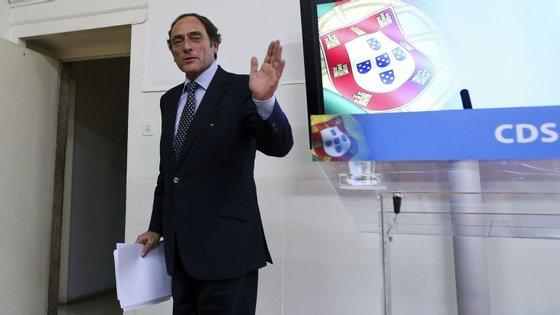 Paulo Portas anunciou que não se vai recandidatar ao cargo de presidente do CDS a 28 de dezembro