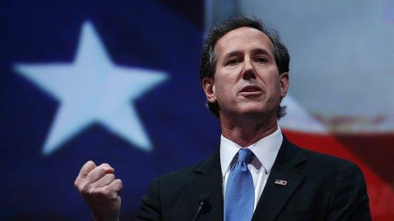 """No """"caucus do Iowa, Rick Santorum alcançou apenas 1 por cento dos votos"""