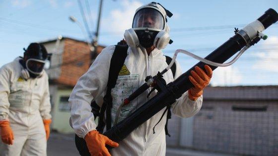 Na Colômbia, existem 20.500 pessoas infetadas com zika