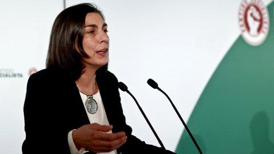 """O PS tem uma """"estratégia própria"""", garantiu Ana Catarina Mendes: vencer o máximo número de câmaras possíveis"""