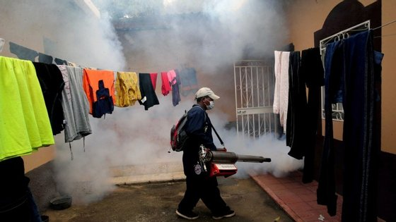 É a América do Sul a região com mais casos: mais de 1,5 milhões no Brasil e mais de 20.000 na Colômbia.