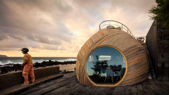 O Cella Bar, nos Açores, do ateliê FCC Arquitetura e Paulo Lobo, ganhou a categoria de hospitalidade