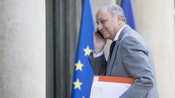Laurent Fabius assumiu a pasta dos Negócios Estrangeiros em maio de 2012, após a eleição de François Hollande