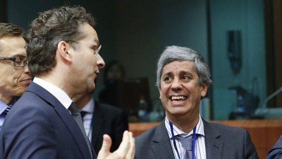 Jeroen Dijsselbloem falou à entrada para a reunião do Eurogrupo, a que preside.