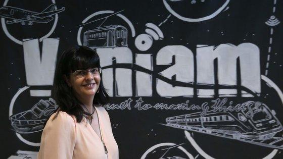 Maria João Souto, diretora geral da Veniam, na Uptec, no Porto