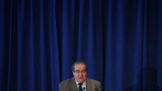 Antonin Scalia foi nomeado para o Supremo Tribunal de Justiça dos EUA em 1986 pelo então Presidente, o republicano Ronald Reagan