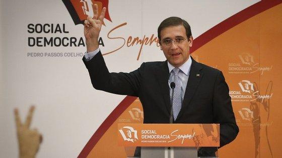 "O líder social-democrata acusou António Costa de tratar com ""menoridade"" os parceiros sociais"
