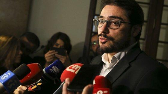 João Oliveira falou só hoje do caso que tem dominado os últimos dias.