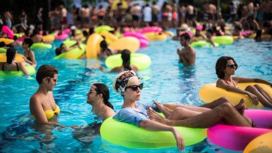 O Milhões de Festa começa esta quinta-feira e a piscina está à espera dos festivaleiros