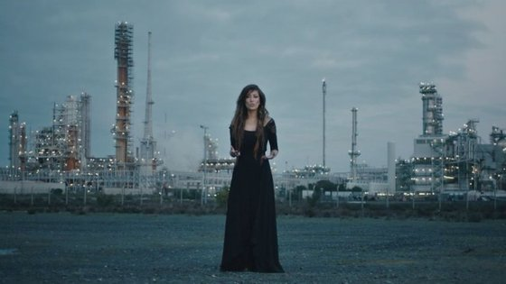 Imagem do novo vídeo de Ana Moura