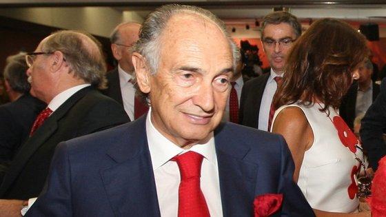 O empresário Manuel Damásio, ex-presidente do Benfica, foi detido esta quinta-feira