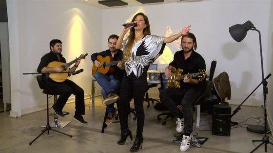 Ana Moura ao vivo no Observador