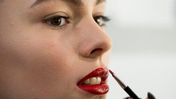 A textura dos lábios é uma espécie de impressão digital: varia de pessoa para pessoa.