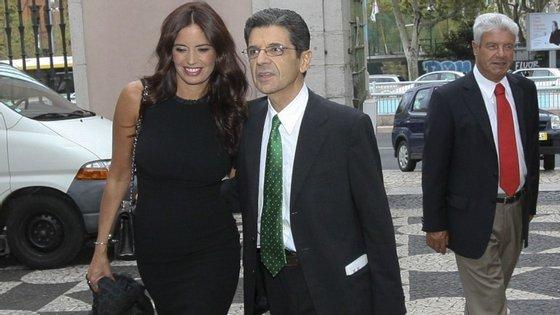 A apresentadora Bárbara Guimarães e o ex-marido Manuel Maria Carrilho