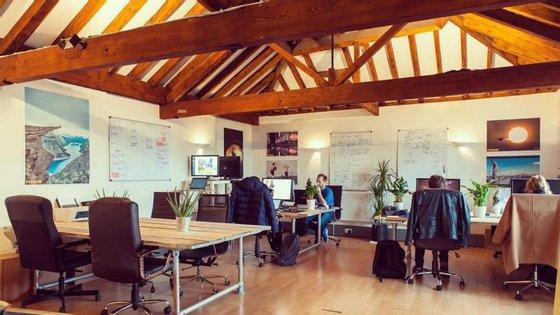 Os três edifícios que o Ministry of Startups ocupa em Londres são a casa de cerca de 500 pessoas