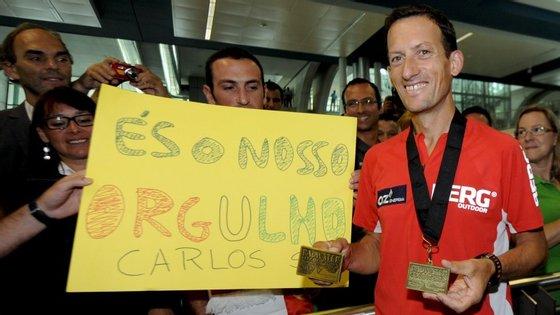 Carlos Sá já conseguiu duas vezes o quarto lugar na prova, em 2012 e 2014