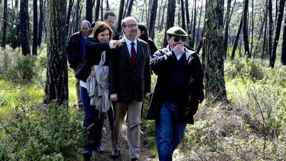O ministro tinha agendadas várias inaugurações para esta tarde de sábado no concelho de Ílhavo