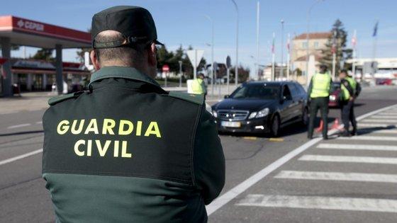 A operação foi efetuada pela Guardia Civil