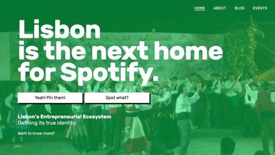 """""""Vamos trazer o Spotify para Lisboa"""" é o mote da campanha lançada por um jovem empreendedor português, Malik Piarali"""