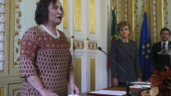 """""""O resultado dessas decisões vai-se cumprindo. Isso acontece em todos os casos"""", afirmou ainda Joana Marques Vidal"""