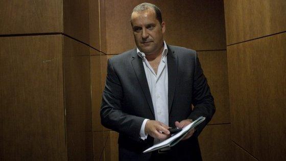 O antigo vice-presidente do Sporting e ex-inspetor da PJ, Paulo Pereira Cristóvão